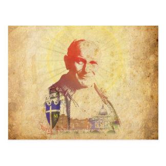 Pope John Paul II Papal Crest Postcards