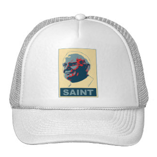 Pope John Paul II Pop Art SAINT Tshirt Hat
