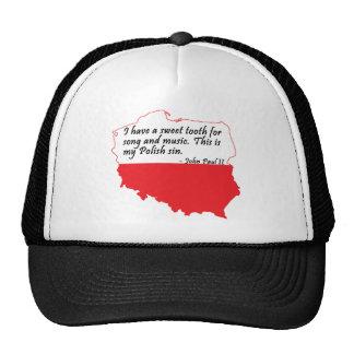 Pope John Paul II Quote Trucker Hats