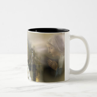 Pope John Paul II Two-Tone Coffee Mug