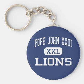 Pope John XXIII - Lions - High - Sparta New Jersey Key Chains