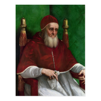 Pope Julius II by Raphael Postcard