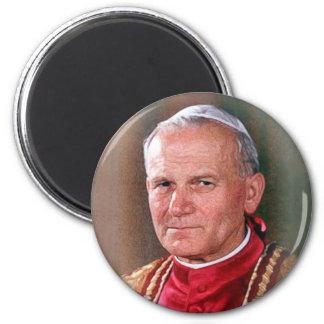 Pope Saint John Paul II 6 Cm Round Magnet