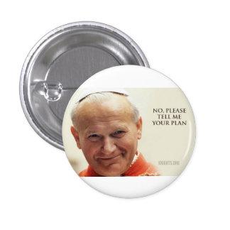 Pope Saint John Paul II 3 Cm Round Badge