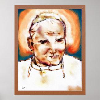 Pope Saint John Paul II Poster