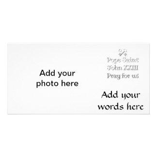 Pope Saint John XXIII Pray for Us Photo Card Template