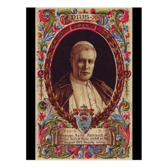 Pope Saint Pius X Postcard