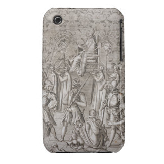 Pope Sixtus V (1521-90) is carried to the Ceremony iPhone 3 Cases