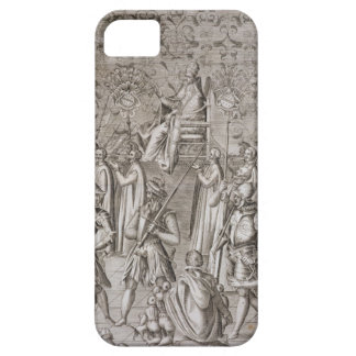 Pope Sixtus V (1521-90) is carried to the Ceremony iPhone 5 Covers