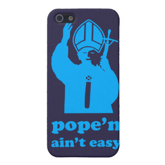 Pope'n Ain't Easy iPhone 5/5S Cover