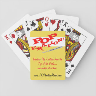 POPeration! Playing Cards