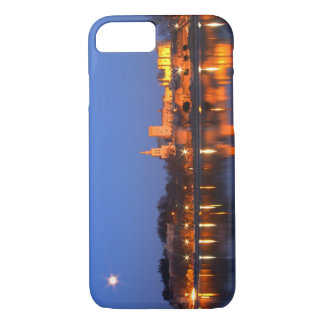 Pope's Palace in Avignon and the Rhone river at iPhone 7 Case