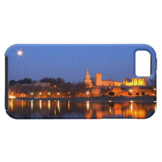 Pope's Palace in Avignon and the Rhone river at Tough iPhone 5 Case