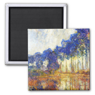 Poplars on the Banks of the River Epte Monet Magnet