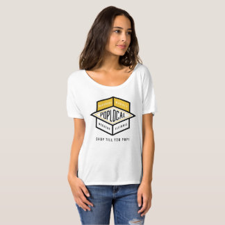 PopLocal Yellow Logo T-Shirt