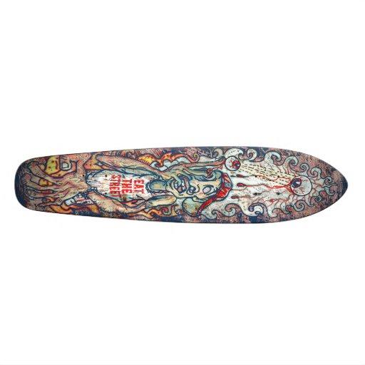 Popped Eyes Skateboard Design