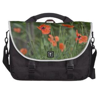 poppies3 laptop bags