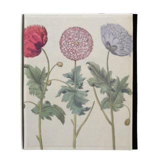 Poppies: 1.Papaver multiplex albumoris rubicundis; iPad Folio Cover