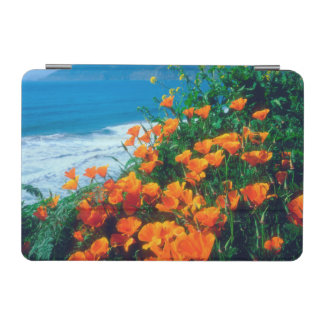 Poppies along the Pacific Coast near Big Sur iPad Mini Cover