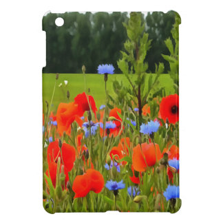 Poppies And Cornflowers iPad Mini Cases