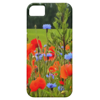 Poppies And Cornflowers iPhone 5 Covers