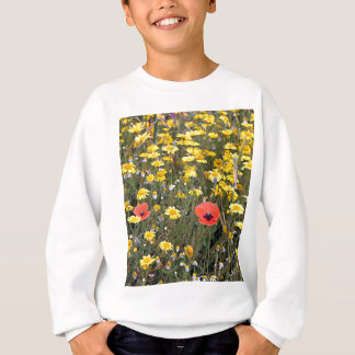 Poppies and daisies, El Camino Sweatshirt
