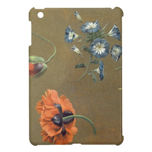 Poppies and Tradascanthus (oil on canvas) iPad Mini Cases