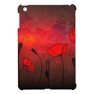 Poppies at Sunset Cover For The iPad Mini