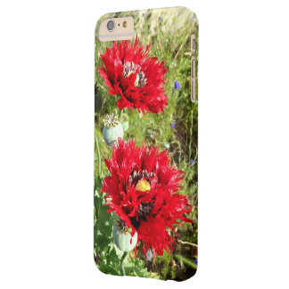 Poppies Barely There iPhone 6 Plus Case
