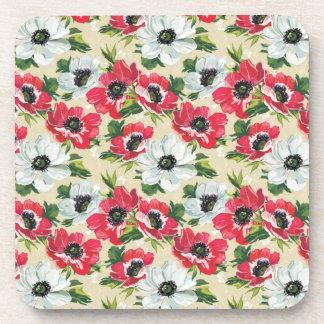 Poppies Beverage Coaster