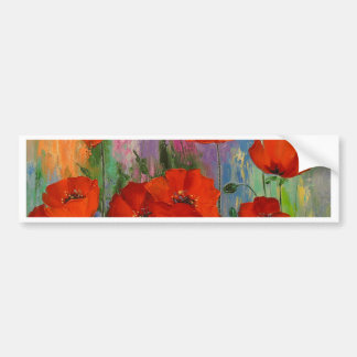 Poppies Bumper Sticker