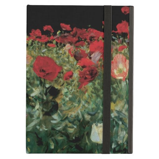Poppies by Sargent, Vintage Flowers Floral Art iPad Air Covers