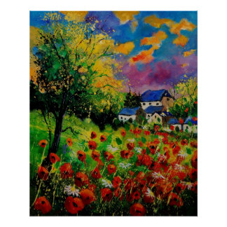 poppies daisies 560110 poster