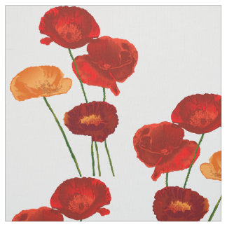 Poppies Fabric