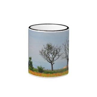 Poppies field mug