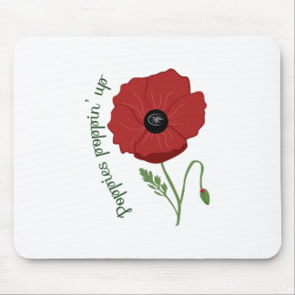 Poppies Flower Mousepad