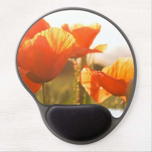 Poppies Gel Mouse Pad