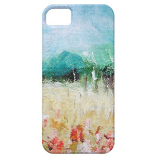 Poppies in a Cornfield iPhone 5 ID Card Case For The iPhone 5