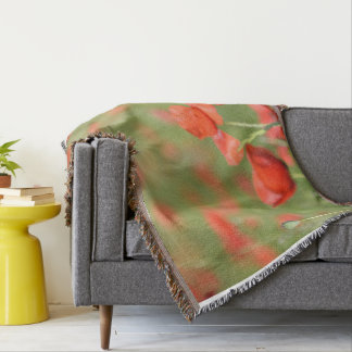Poppies in a poppy field blanket