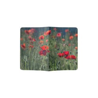 Poppies in Field - Passport Holder