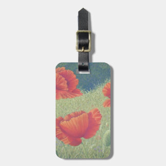 Poppies in Flanders Fields in Pastel Luggage Tag