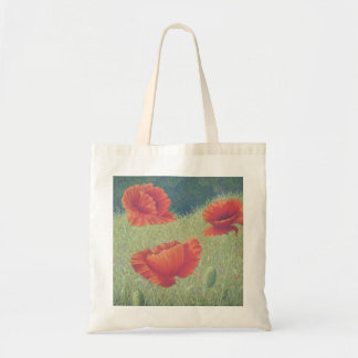 Poppies in Flanders Fields in Pastel Tote Bag