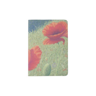 Poppies in Flanders Fields Passport Holder