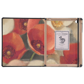 Poppies in Full Bloom iPad Cover