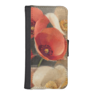 Poppies in Full Bloom iPhone SE/5/5s Wallet Case