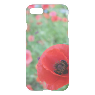 Poppies in Poppy Field, iPhone 7 Case