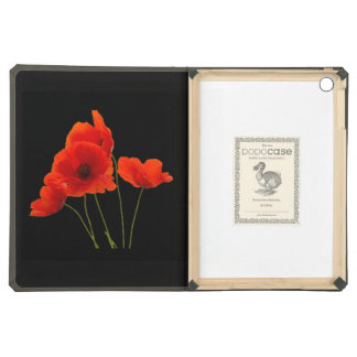 """""""Poppies"""" iPad Air Covers"""