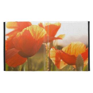 Poppies iPad Folio Covers