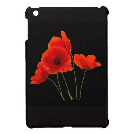 """""""Poppies"""" iPad Mini Cases"""