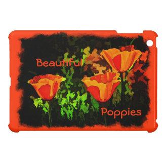 Poppies iPad Mini Cover